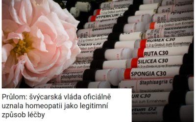Švýcarské zdravotní pojišťovny hradí léčbu celostní medicínou, aleluja